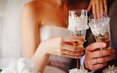 Bästa vinet på bröllopsdagen