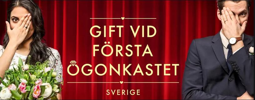 Gift vid första ögonkastet från SVT hos Bröllopsbruket