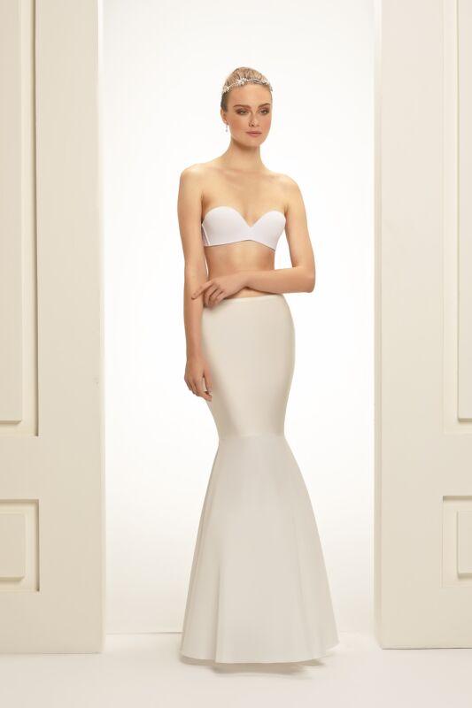 Underkjol Mermaid Bianco