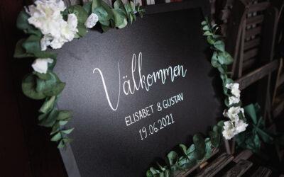 Weddingstory: Elisabet & Gustav
